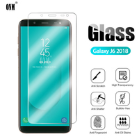 2,5 D 9H Premium Gehärtetem Glas Für Samsung Galaxy J6 2018 J600F J600G Glas-schirm-schutz-schützender film für Samsung galaxy J6