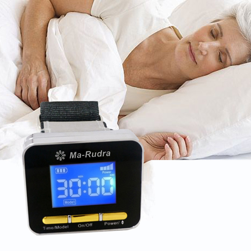 Laser Acupuncture Therapy Diabetic Watch Sleep Insomnia Laser Watch Therapy Rhinitis High Blood Pressure Cholesterol