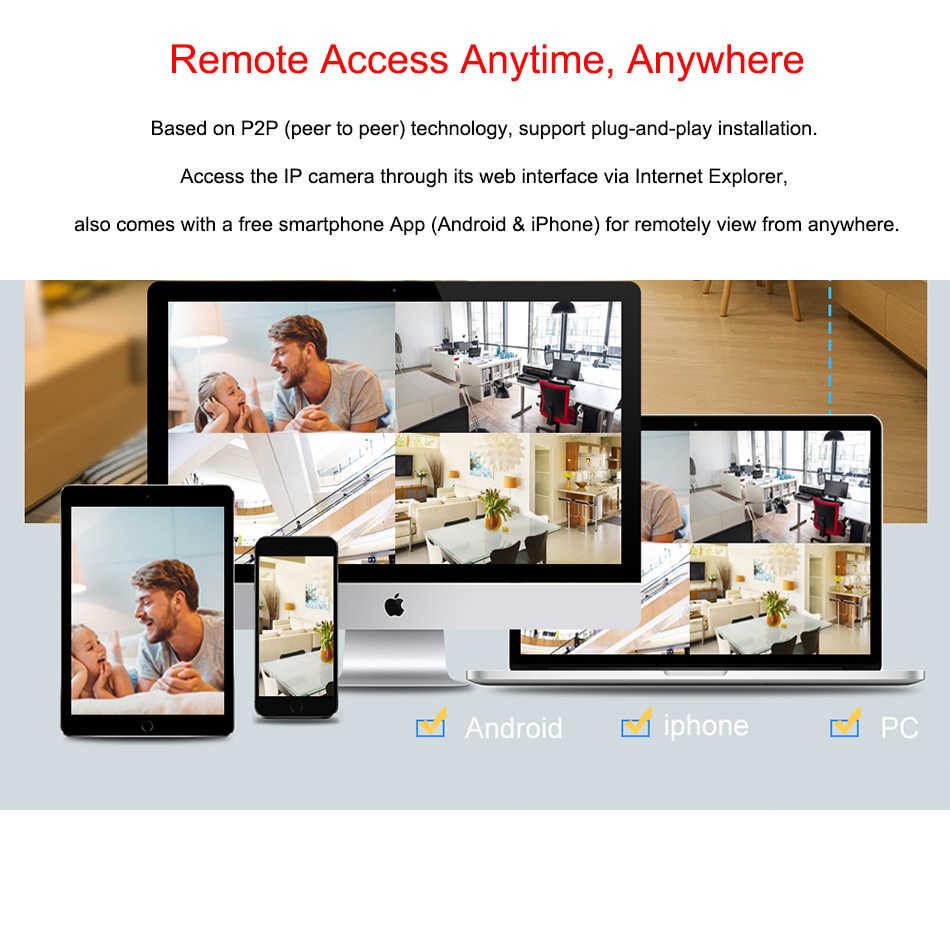 "Techage 8CH 1080P 48 فولت POE NVR 10.1 ""شاشات كريستال بلورية شاشة 802.3af P2P ONVIF شبكة مسجل فيديو ل 2MP الأمن POE كاميرا IP"