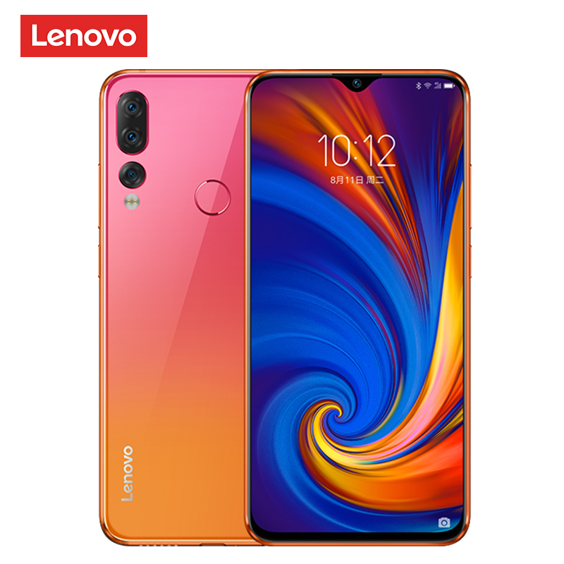 Global ROM Lenovo Z5s Snapdragon 710 Octa Core 6GB 128GB Mobile Phone Face ID 6.3inch Android P Triple Rear Camera Smartphone