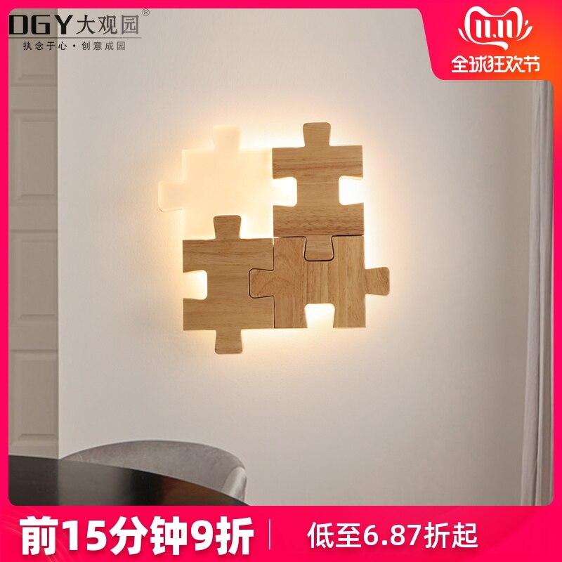 Коридор, крыльцо, прикроватные, Современные Простые лампы, творческая личность, супер тонкий дизайнерский светодиодный настенный