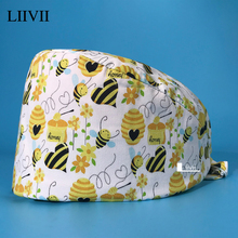 Surgery-Cap Clinical High-Quality Breathable Wholesale Cotton Cartoon Fashion Cute Unisex
