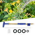 Новый садовый водяной пистолет  латунный ручной толчок и потяните полив  одиночная насадка  распылитель  инструменты для полива