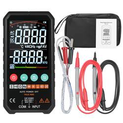 LCD Digital Multimeter 6000 Counts True RMS AC/DC Voltage Resistance Capacitance Frequency Continuity Diode NCV Test
