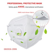 Ship Within 24H! Hot Sale KN95 Mask N95 Prevent Corona Safety Protective Mask Anti Dust Anti FFP2 FFP3 Dust Gas Mask