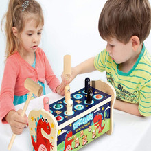 Bench-Toys Hammer Games Wooden Kids with Educational Fun