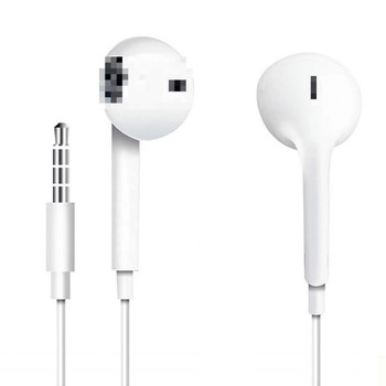 High Quality Earphones Wired EarPods with 3.5 mm stereo Headset bass Earphone Earbuds In Ear with Mic for iPhone 6 6S original cyshdai in ear earphones unique engine shape supper bass auriculares headset with mic for iphone ipad samsung mp3 mp4