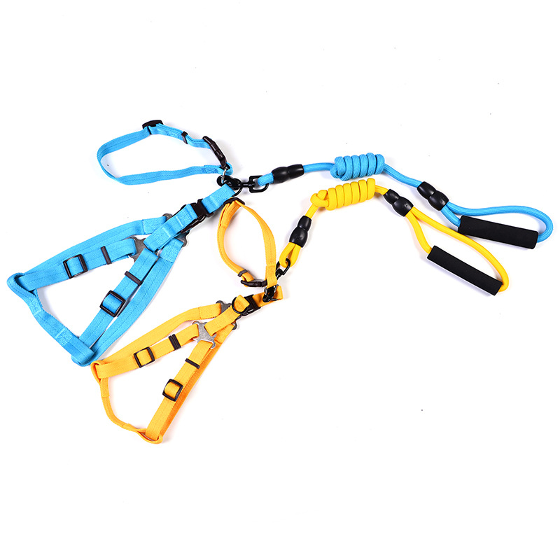 Pet Collar Traction Rope Nylon Tow Rope Dog Chain Traction Belt Pet Supplies