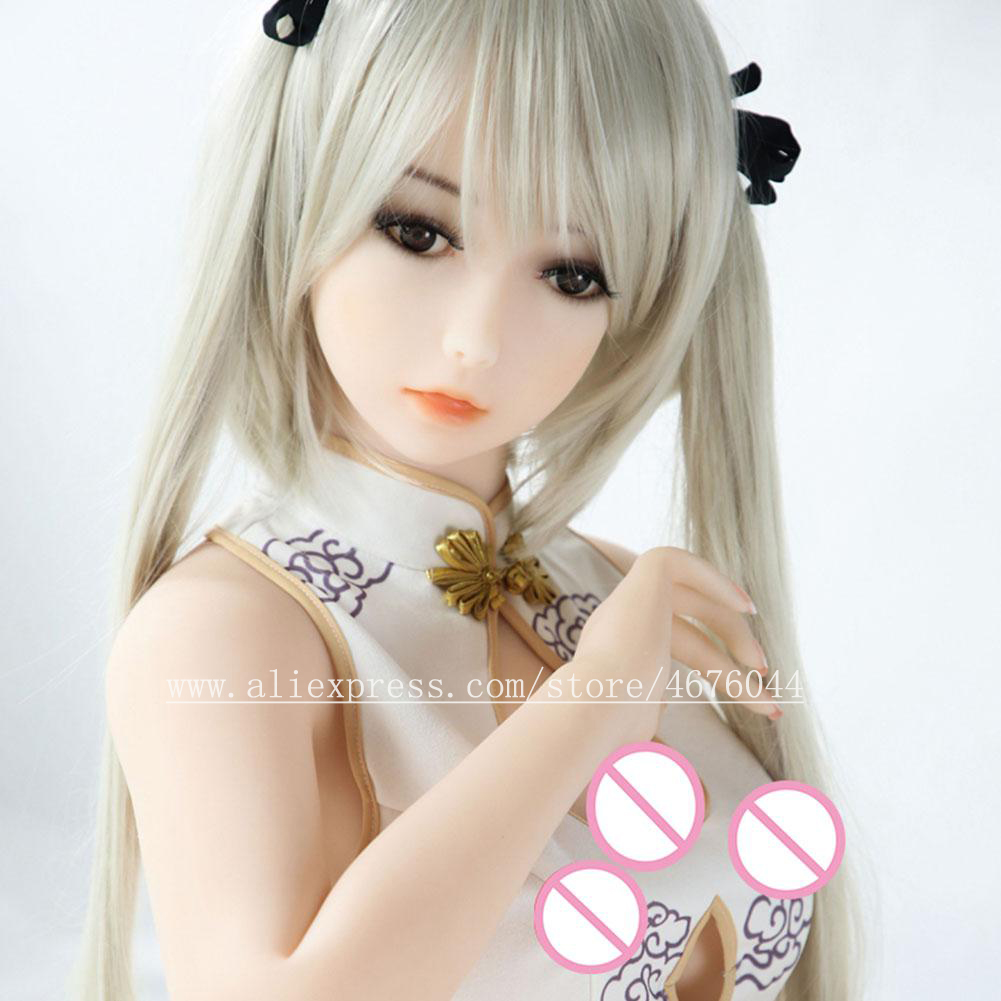 Image 3 - 100cm Lifesize Solid Silicone SexDolls Arficial Vagina Love Doll Real silicone sex dolls for Men Masturbators sexdoll  love doll-in Sex Dolls from Beauty & Health