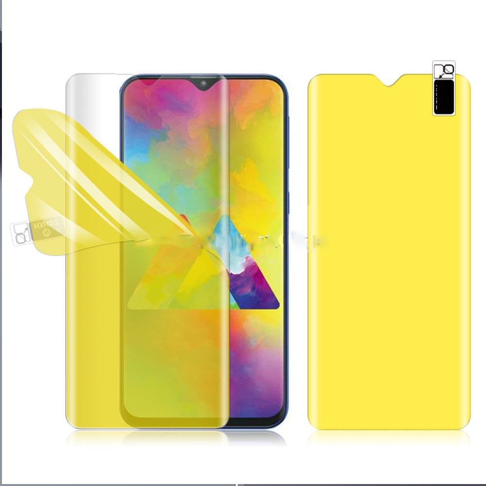 Curved Edge Full Cover For HTC Desire 19s Screen Protector Hydrogel Film Protective Film For HTC Wildfire E1 Plus Not Glass