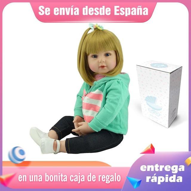 Silicone Reborn Baby Dolls Bebe Alive Realistic Boneca Lifelike Real Girl Doll 1