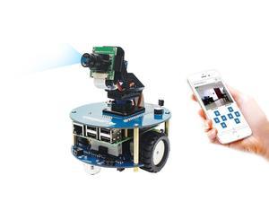 Image 3 - Robot Inteligente de Vídeo inalámbrico AlphaBot2, alimentado por Raspberry Pi 4 Modelo B enchufe de alimentación de EE. UU./UE