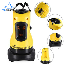 Laser level 360 degrees rotating bar self-leveling functional high adjustable economic DIY 2 (1 V, 1 H) Cross-line laser