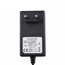 100V-240V Power Supply Charger Adapter EU Plug  DC 12 V 2.5A Power Adapter for LED light Strips цена и фото