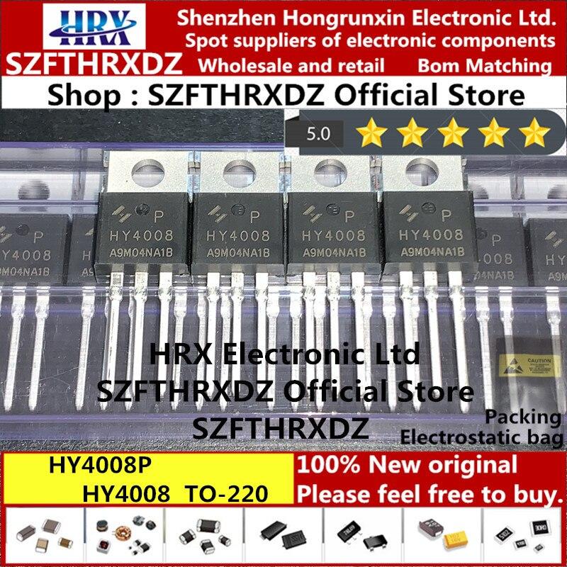 100% Новый оригинальный HY4008P TO 220FB 3L HY4008 TO 220 MOSFET 80V 200A TO220 50 шт/труба (10 шт)|Индукторы|   | АлиЭкспресс
