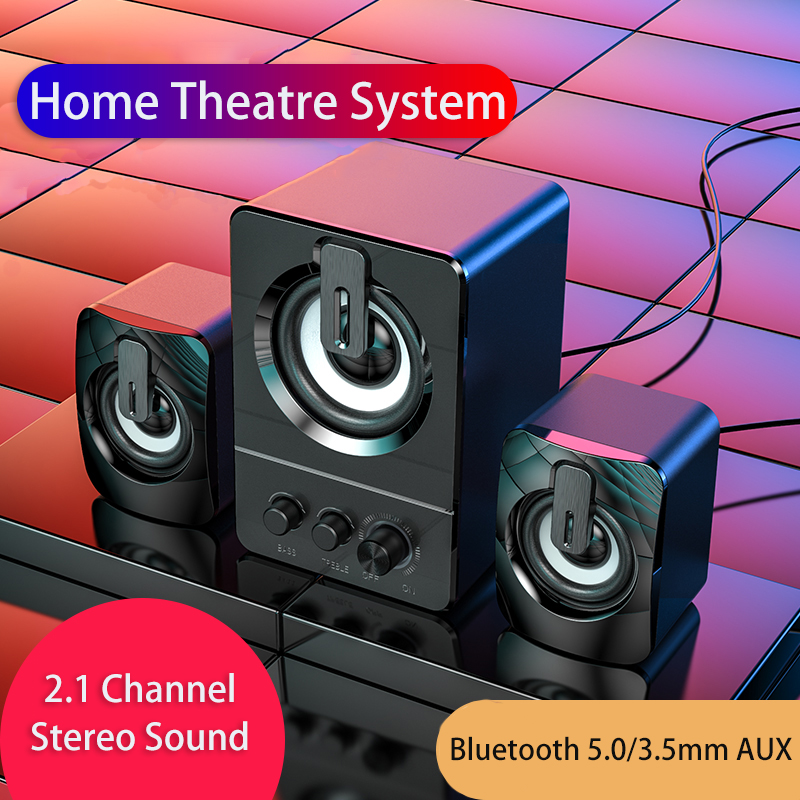 Altavoces Bluetooth Computer Speakers Home Theatre System Alto-falantes Soundbar with Subwoofer Haut-parleurs Music Luidsprekers