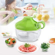 Household Manual Garlic Grinder Crusher Hand Press Meat Chopper Kitchen Tool Mini Stainless Steel Garlic Cutter Food Shredder meat grinder high quality stainless steel manual mini meat grinder mincer table hand crank tool for kitchen 8 zf