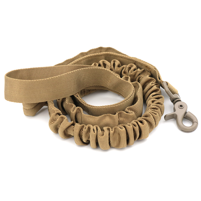 Bungee Dog Leash 2 Handle Cat Dog Pet Leash Elastic Leads Rope 1