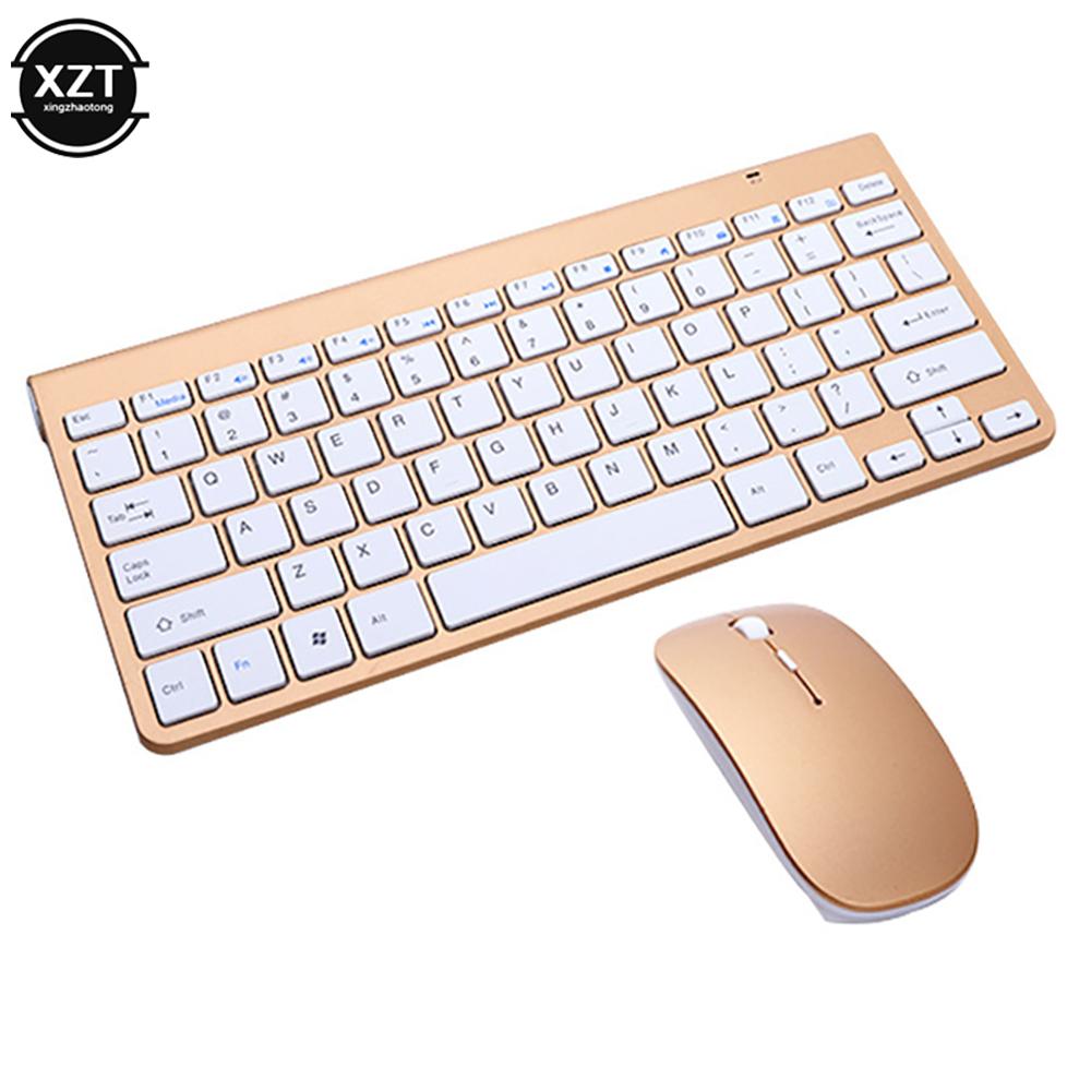 24g Беспроводная клавиатура и мышь мини мультимедийная набор