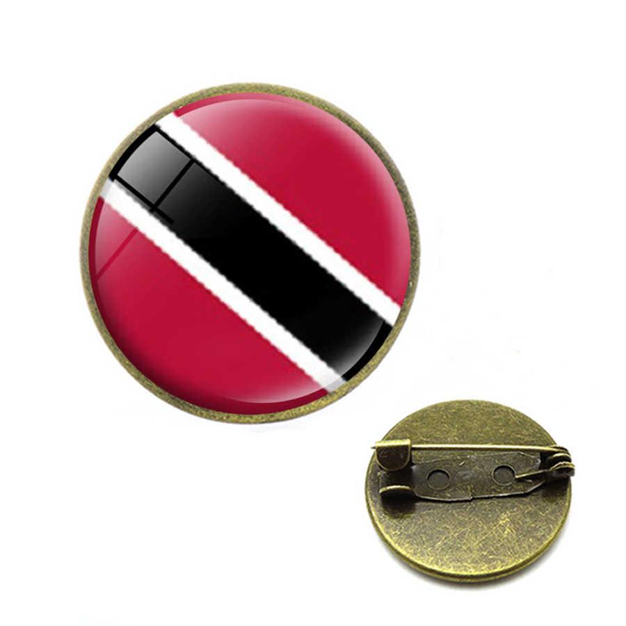 Tùy Chỉnh Quốc Kỳ Thổ Cẩm Canada Mexico Cuba Haiti Panama Tto Salvador Dominica Granada Belize Costa Rica Chân Trang Sức