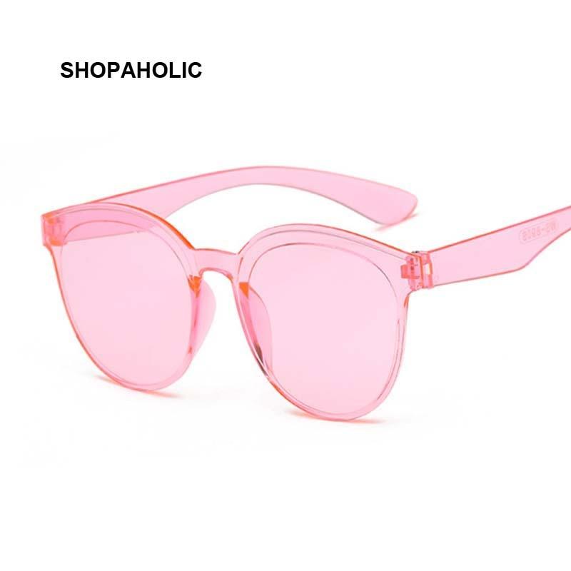 Cat Eye Sunglasses Women Retro Mirror Black Pink Purple Sun Glasses Female Fashion Vintage Oculos De Sol Feminino UV400 Points