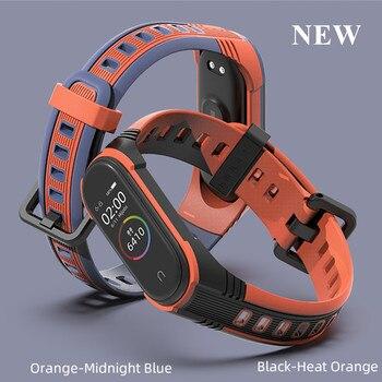 2020New Style Mi Band 4 3 Strap For Xiaomi mi band 4 Bracelet for xiaomi miband 3 X Smart Watch-Band Bracelet Sport Silicone цена 2017
