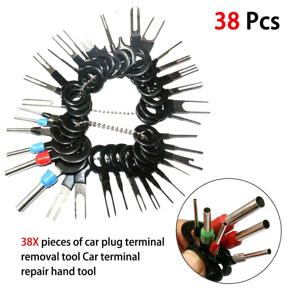 Hava הסרת 38 במחשבים Wire Terminal כלי רכב חשמלי חיווט והלחמה פיני קיט סט (4)