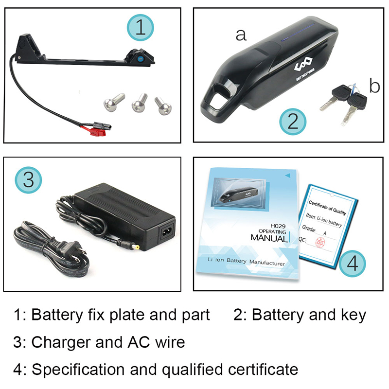 Packing-list-USA Dolphin ebike battery