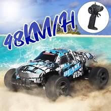 Coche todoterreno teledirigido 2WD 1:20, vehículo de carreras todoterreno, 2,4 Ghz, monstruo eléctrico, regalos para niños