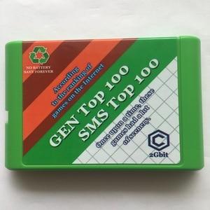 Image 1 - Sega Genesis and Master System game cartridge 200 in 1 Mega Drive 16 bit Multi Cart Cartridge Many games can save