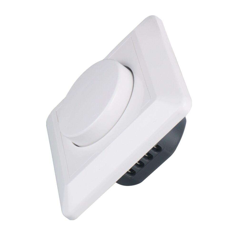 200W Triac Dimmer 230V 240VAC atenuación LED luces interruptor regulable regulador de brillo panel del conductor bombilla lámparas módulo