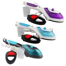 Mini Portable Handel Brush Steamer Steam Iron with Clip Electric Fast Heat Up for Clothes Flat Hanging Steaming for Home and handheld steamer kitfort кт 916 handheld steamer for clothes steam generator for home steam cleaner home appliances steamer vertical