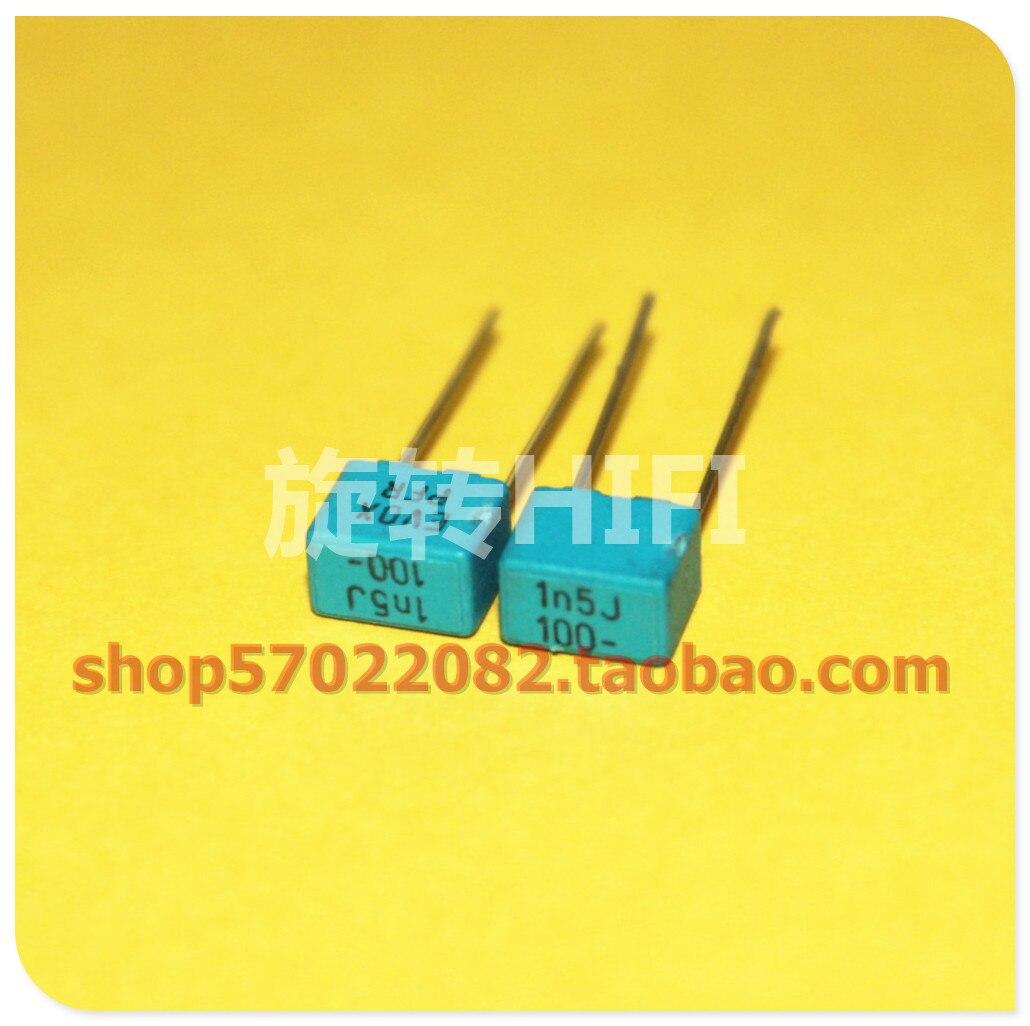 KEMET EVOX PFR5 Mkp Electrodeless Febrile Film Capacitor P5 1NF 1.3NF 1500PF  1600PF 1.8NF 1000PF 1.5NF 63V 100V 400V 1800PF