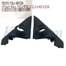 2 шт., колпачки для передней двери, колпачки для обшивки крышек 76270-T2J-H01ZA для Honda Accord 2014 2015 2016 2017