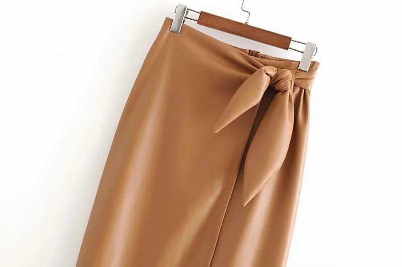 冬 woemn ロングスカート pu レザースカート女性のストリートベルトプリーツスカート女性のカジュアルなハイウエストスカート