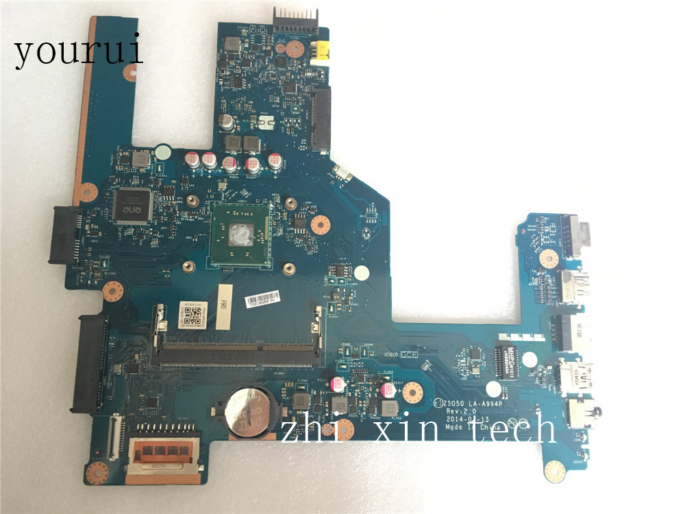 youru High quality For HP 250 15-R mainboard <font><b>ZS050</b></font> <font><b>LA</b></font>-<font><b>A994P</b></font> 774711-001 774711-501 DDR3 with N2830 CPU Test all functions 100% image