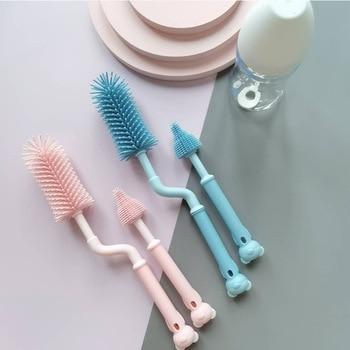 Clean Brush Baby Milk Bottle Water Cup Glass Feeder Wash Kitchen Cleaner Hot