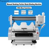 Perfect Book Binding Machine 5 Functions in 1 Latest model Hot Melt Glue Book Binder