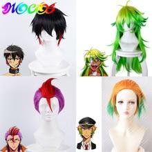 DIOCOS อะนิเมะ Detention House Nanbaka Jyugo Nico Rock Goku Cosplay Wigs