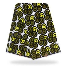 Оптом Анкара Африканский воск хлопчатобумажной ткани Африки Fabricfor осенью нидерландский одежда ткань 6 Ярды одна часть