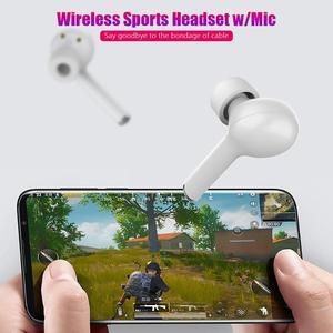 Image 4 - TW50 auriculares TWS, inalámbricos por bluetooth 5,0, auriculares estéreo rosas táctiles de llamada Bilateral con caja de carga