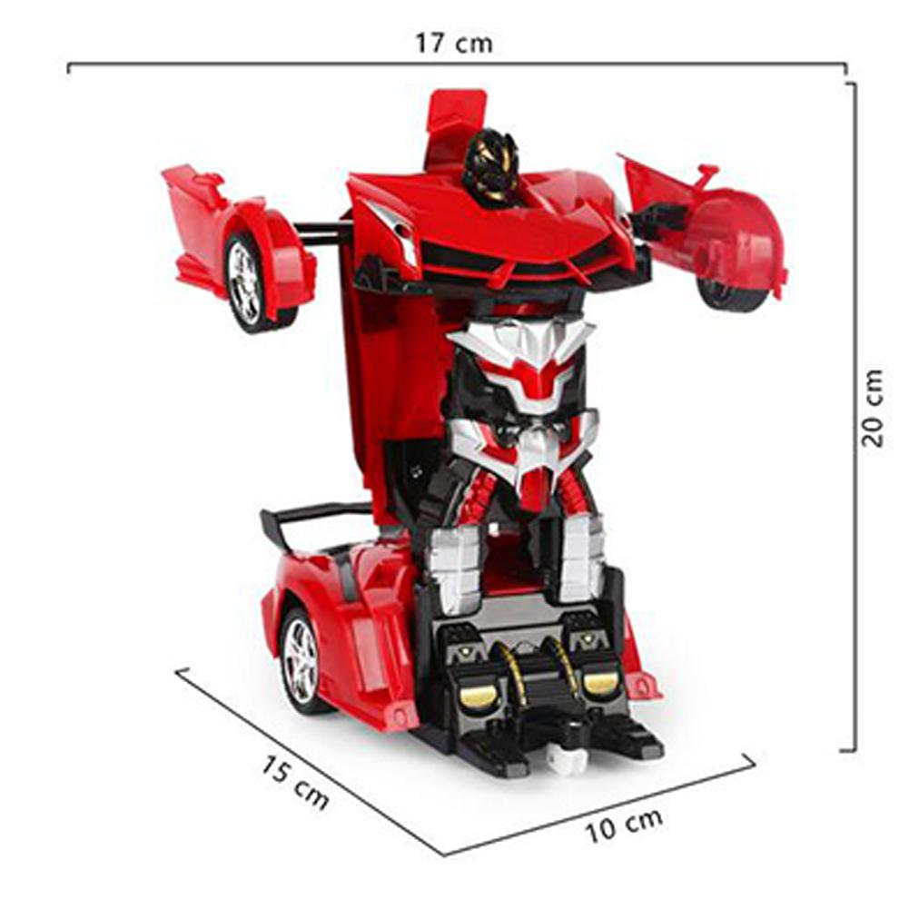 Купить с кэшбэком Children Transformation Robots car toy for GloryStar Vehicle Remote Control Toy Kids Birthday Gift Delicate Desk Decoration