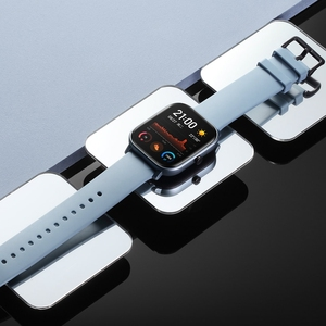 Image 4 - Amazfit GTS הגלובלית גרסה חכם שעון smartwatch GPS ריצה ספורט קצב לב 5ATM עמיד למים צמיד AMOLED Amazfit