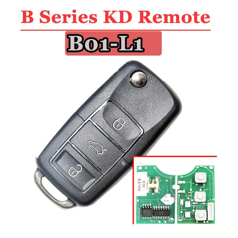 KEYDIY KD Remote B01 L1 remote  Key 3 Button  B Series Remote Control  with Black Colour for URG200 KD900 KD200 Machine 1 Piece
