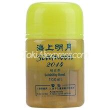 HAIFU SEA MOON Table Tennis Rubber Sponge Solubility Bond Booster Oil 100ml Original HAIFU SEAMOON VOC Tune Ping Pong Booster