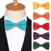 Suits Solid Bow Tie Butterfly Classic Mens Bowtie Tuxedo Adjustable  ties For Wedding Party Bowties Men Women Cravat