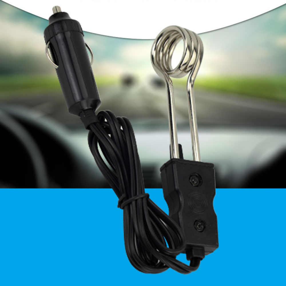 1 stücke Tragbare 12 V/24 V Elektrische Auto Gekocht Immersion Wasser Heizung für Reisen Camping Picknick Heißer Verkauf
