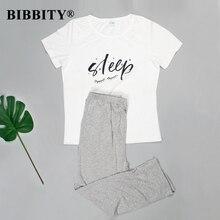 Novo pijamas para mulheres de manga curta algodão conjunto de pijama feminino dos desenhos animados