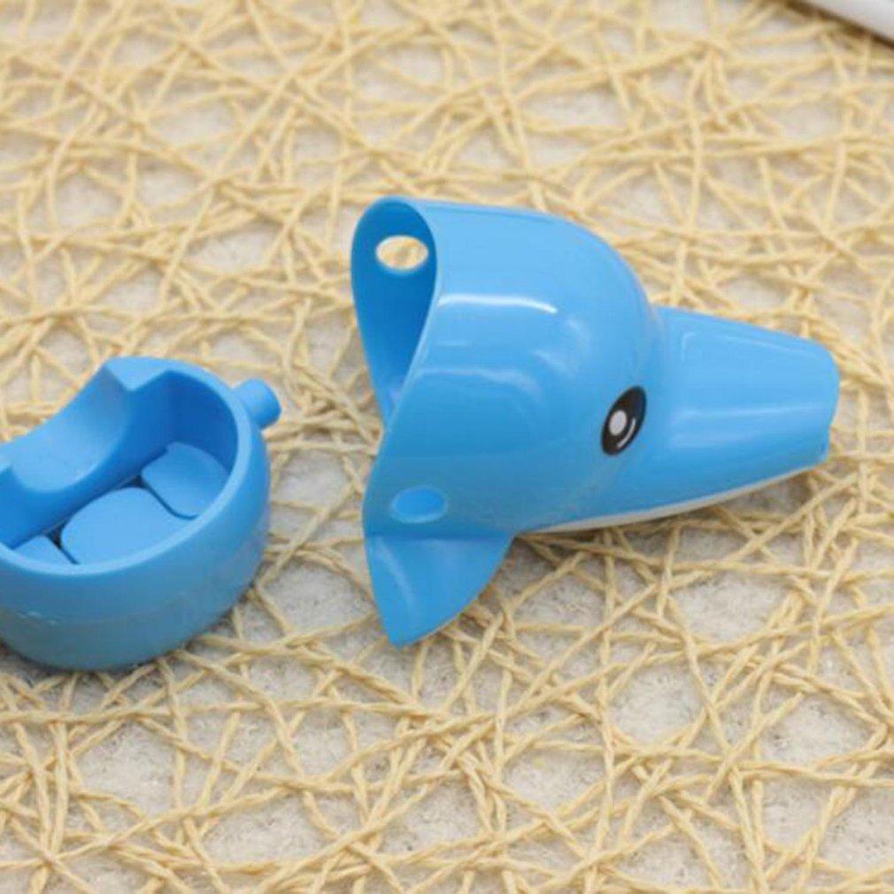 Kawaii Children Faucet Extender Sink Handle Extension Toddler Kid Bathroom Children Hand Wash Tools Extension 5