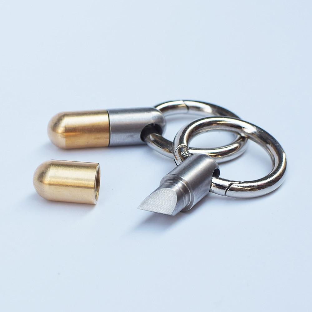 Multifunction EDC Slide Tool DIY Repair Manual Tool Pocket Micro Cutter Pill Cutting Tool Carving Tool Knife Portable Slice